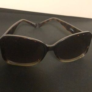 Cole Haan Two Tone Sunglasses- turquoise/frost